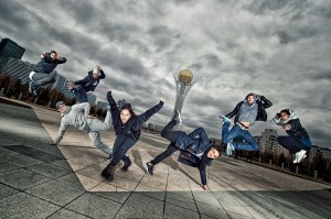 Cast of Red Bull Flying Bach - Portrait