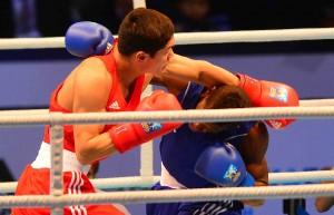 встреча сборных команд по боксу 4-х стран. С 16 по 19 февраля в г. Астане во дворце Жастар-1