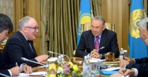 Nimmermans and Nazarbayev