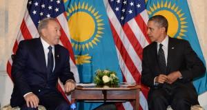 Nazarbayev and Obama