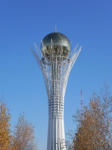 Baiterek. Astana. Oct. 2011. Photo: Ursula Gelis