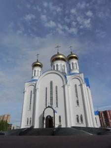 The Uspensky (Assumption) Cathedral, Astana/Kazakhstan. Oct.  2013. Photo: Ursula Gelis.