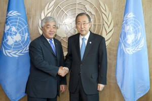 Secretary-General Meets Foreign Affairs of the Republic of Kazakhstan.