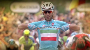 Tour de France 2014: Vincezo Nibali launches late attack to win stage two – video