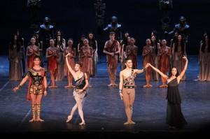 Astana Opera ballet dancers in Genoa