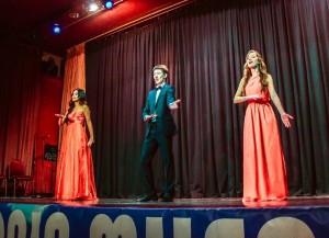 Trio Birzhan Abdirashitov, Alina Alexeyeva and Aminam Usmanova