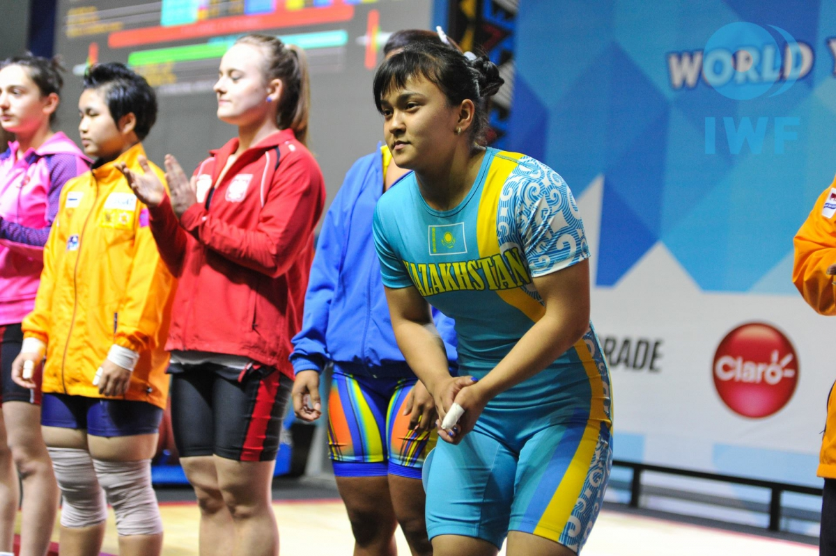 Kazakh Weightlifters Win Four Medals at World Youth ...
