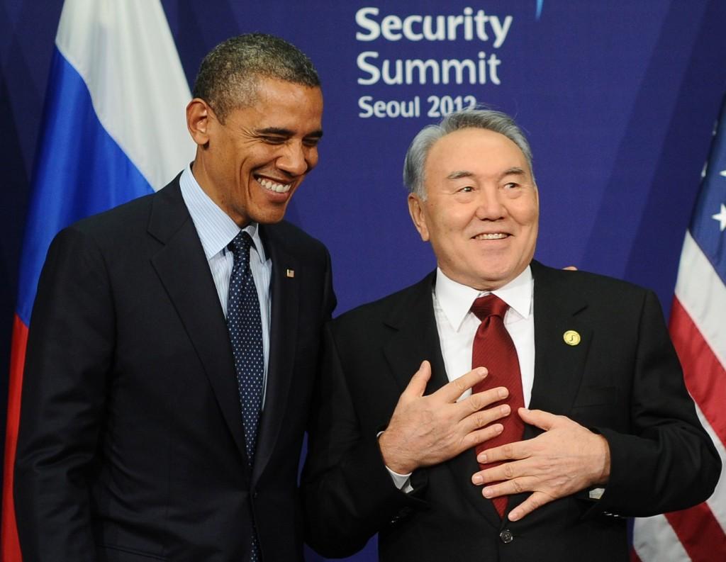 Nazarbayev-and-Obama