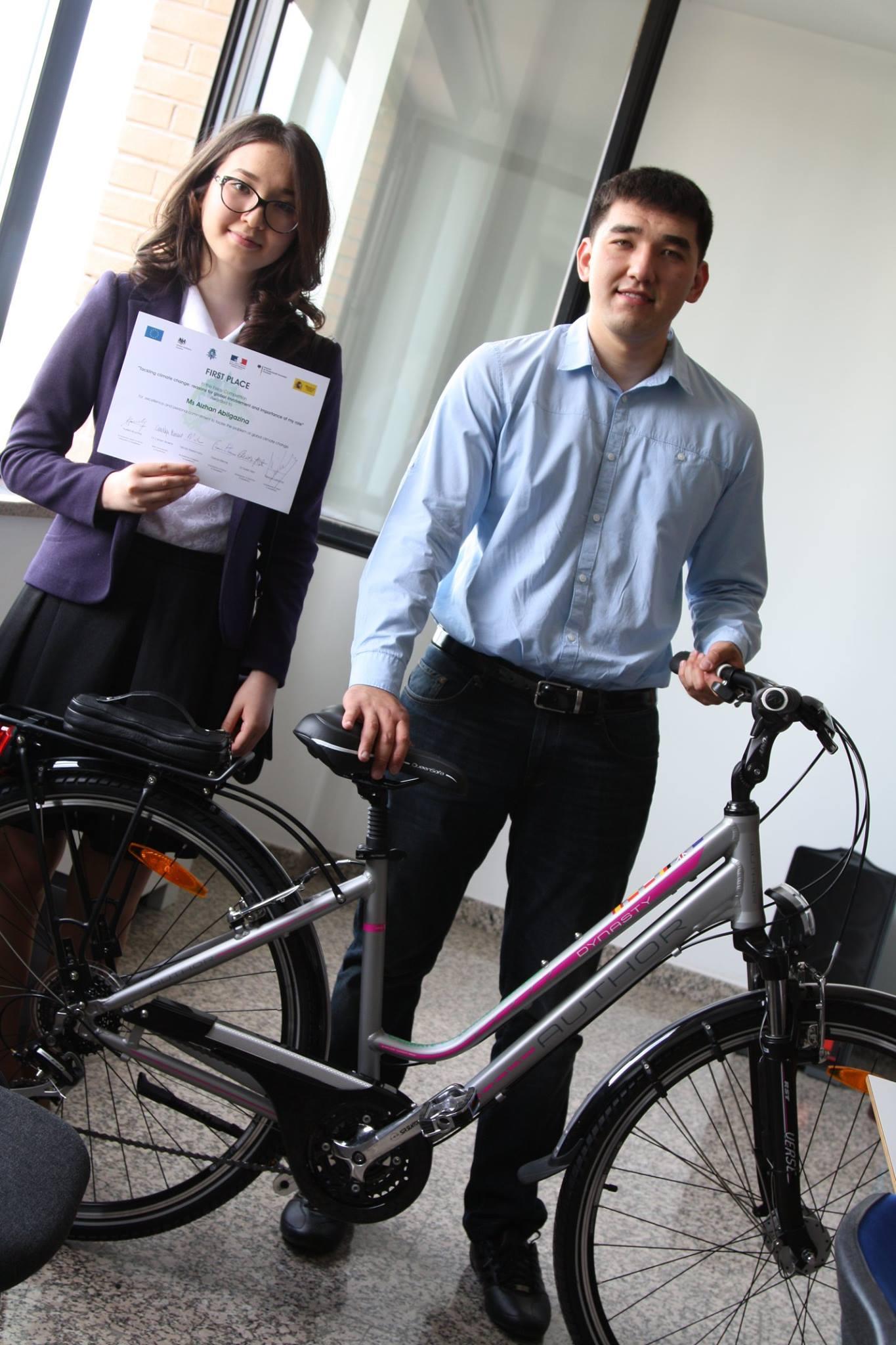 nazarbayev university student wins climate change essay contest eu climate change 5