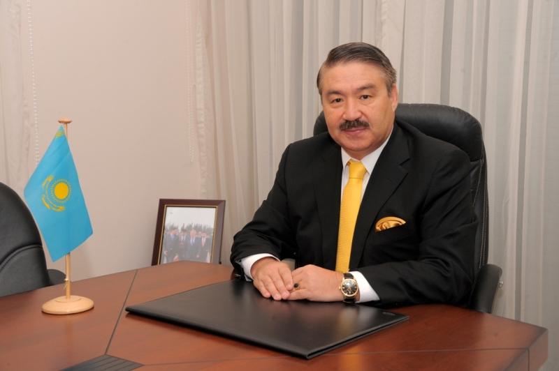 Ambassador of Kazakhstan to India Bolat Sarsembayev.