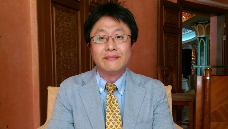 Deputy Director of International Exhibitions Promotion Office of the Ministry of Economy, Trade and Industry of Japan Koki Otsuka in Astana.